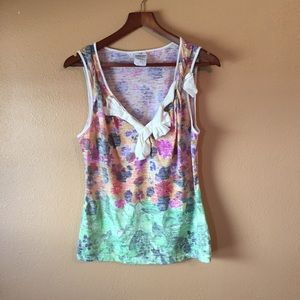 Anthropologie RebekahMaysles Wild Imagination Tank